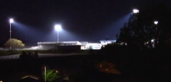Stadium Lights Clairemont High School