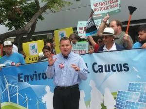 The Labor Council's Richard Barrera asks: Are you going to side with us?