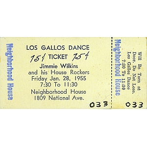 Los Gallos Dance Ticket - Neighborhood House