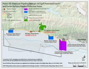 Hundreds Will Rally As Oil Spill Fouls Santa Barbara 'Marine Protected Areas'