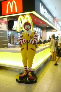 Ronald McDonald's Unhappy Meals