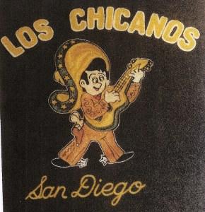 Los Chicanos jacket emblem