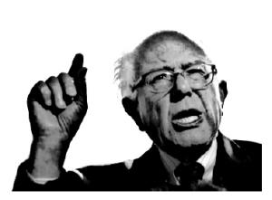 Bernie Sanders bnw