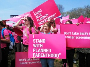 planned parenthood signs