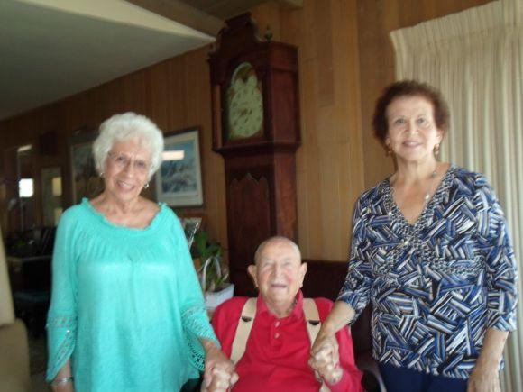 Connie Zuniga, Bill Gibbs and Maria Garcia
