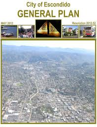 Escondido general plan