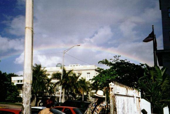PR rainbow