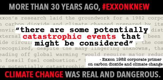 exxon knew
