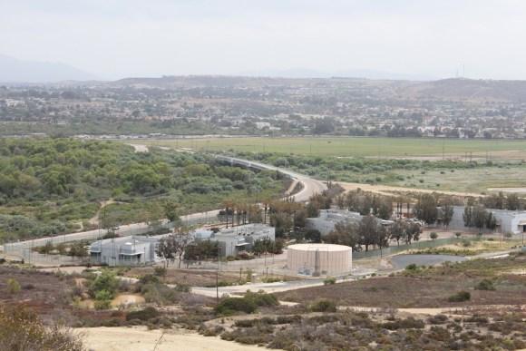 Tijuana River sanitation plant