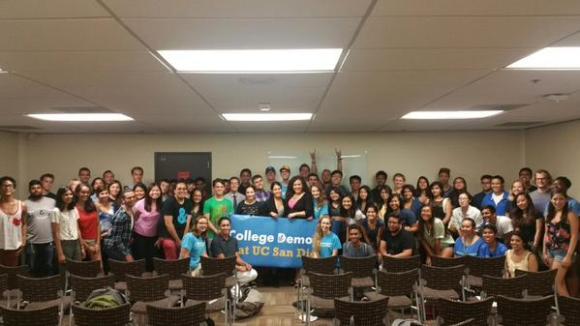 UCSD College Dems, w/ Assm. Lorena Gonzalez