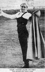 Female Bullfighter