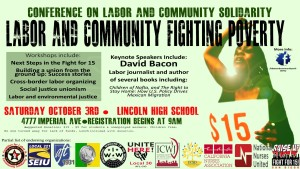 October solidarity conference