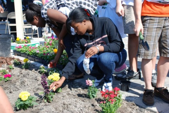 Community garden Jaxport via Flickr