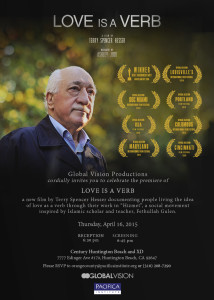 Poster from documentary favorable to the Gulen movement