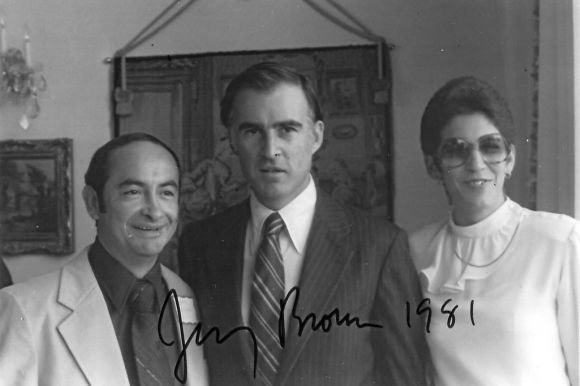 Roger, Governor Jerry Brown and Norma