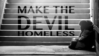 homeless make devil