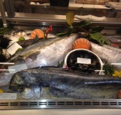 Liberty Market fish display