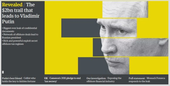 The Guardian's lead graphic