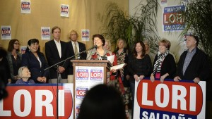 saldana campaign announcement