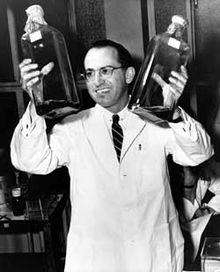 Dr. Jonas Salk Via Wikipedia