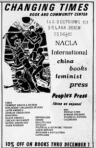 Changing Times advertisement from North Star (Vol. IV No. 5 Nov. 12-25, 1973)