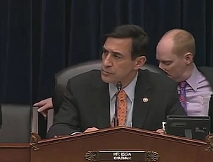 Darrell Issa presiding over House Oversight Committee meeting Nov. 17, 2011