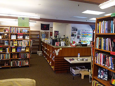 Groundwork Books in 2016, located in the UCSD Old Student Center