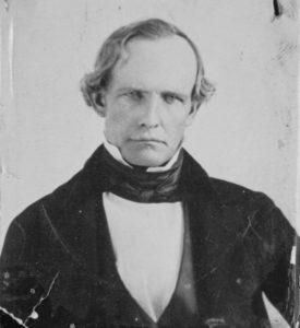 California Gov. Peter H. Burnett (1849-1851)