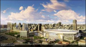 Proposed Football Stadium