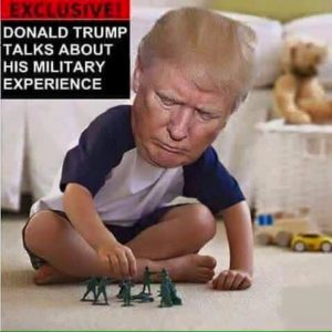 Trump military