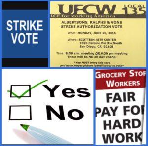ufcw vote logo