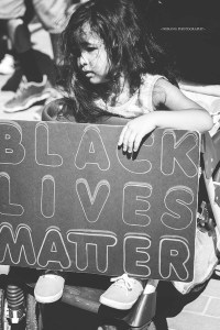 Scene at Black Lives Matter Rally San Diego, July 10, 2016