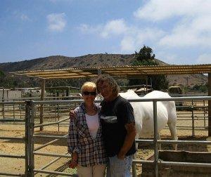Janice Jordan and Mike Pratt at Ferdinand's Familia