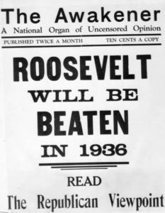GOP Conventions Material, 1936