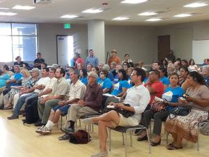 California Air Resources Board (CARB) workshop in Barrio Logan, July 14, 2016