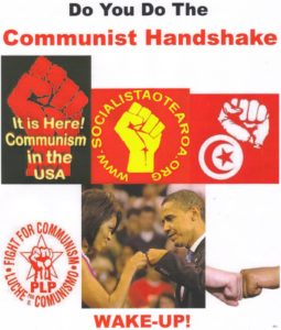 Communist handshake 001