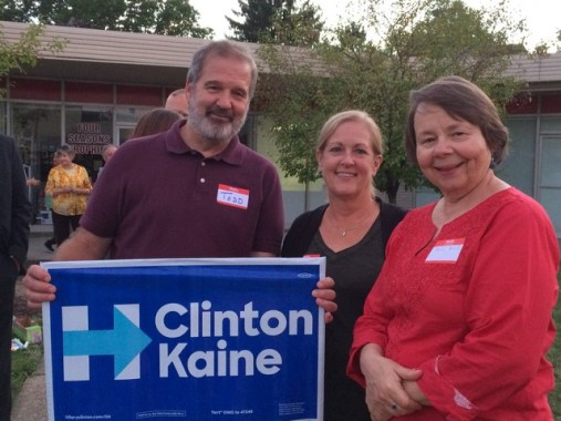 volunteers Clinton-Kaine