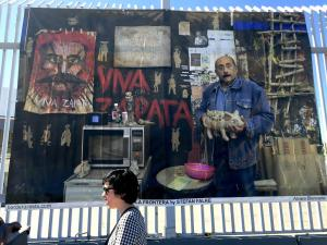 La Frontera: A new exhibit while in line at the San Ysidro Port of Entry