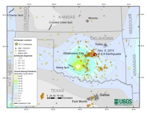 Fossil Fuel Extraction Producing Earthquakes in Oklahoma
