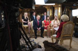 trump-family-60-minutes normalize trump