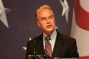 Congressman Tom Price. Photo by Gage Skidmore