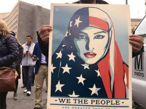San Diegans Responding to Trump Muslim Ban With Airport Protests