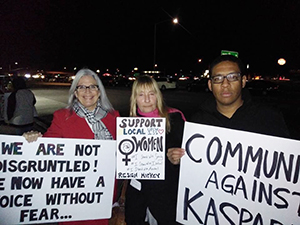 Donna Frye and Irene McCormack Show Solidarity with Kasparian's Accusers
