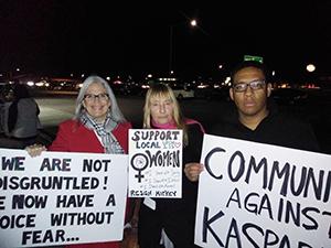 Kasparian's accusers