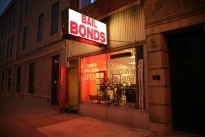 Bail Bond agency storefront