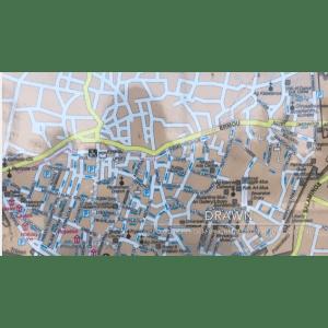 Street map of Nicosia, Cyprus