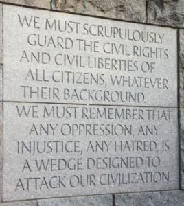FDR quote civil rights