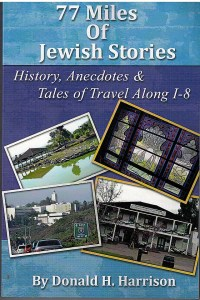 """Book cover of """"77 Miles of Jewish Stories"""""""