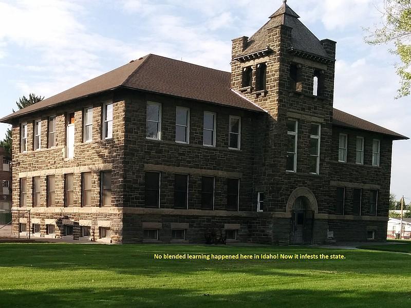 Glenns Ferry former elementary school, now a museum