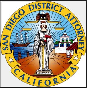 Seal of the San Diego District Attorney's office